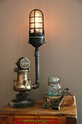 Antique Brass Gas Meter Sold