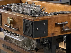 Industrial / Barn wood / Steam Gauge  / Carroll Shelby 427 FE Engine / Table Ford Shelby / Automotive  /   #10000