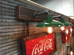 Steampunk Industrial Wall Sconce Coke Sign Lamp #2001