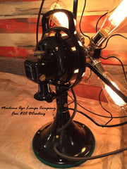 Steampunk Art Deco Antique General Electric Fan Lamp #DC5 - SOLD