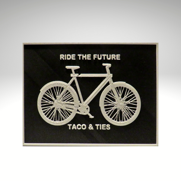 Ride the Future 3D image / Gutschpersonalisée