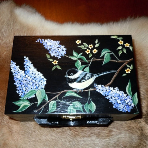 Keepsake Box - Chickadees