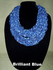 Fashion Infinity Scarf - Brilliant Blue