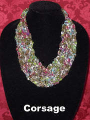 Fashion Knitted Necklace - Corsage