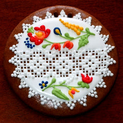 Gingerbread Ornament with Norwegian Motif