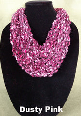 Fashion Infinity Scarf - Dusty Pink