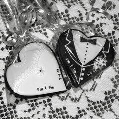 Gingerbread Hearts - Wedding Favors
