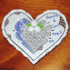 Wedding Gingerbread Heart