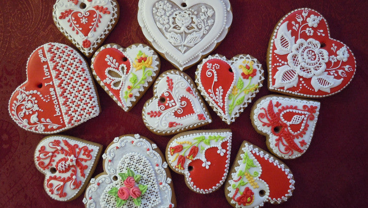 Gingerbread Heart for Valentine's Day