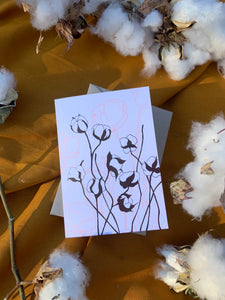Raw Cotton Card