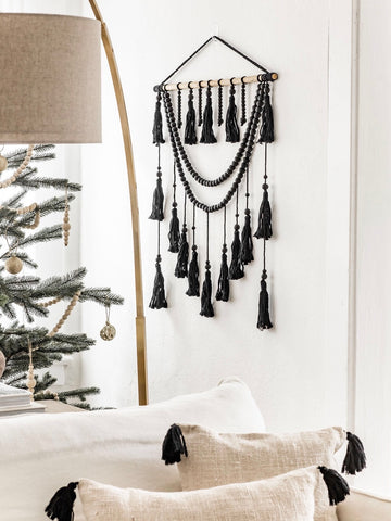 Beaded Tassel Macrame