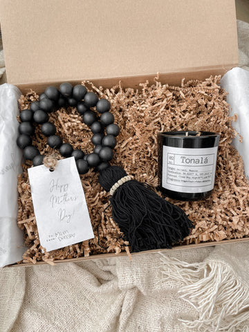Mother's Day: The Boho Bead Box in Black