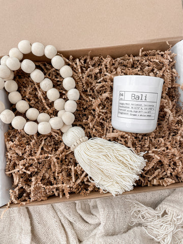 Mother's Day: The Boho Bead Box in Natural