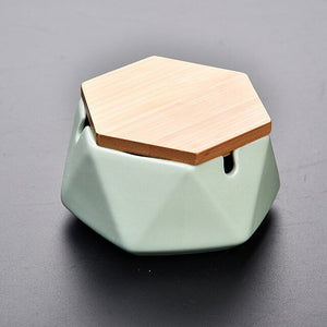 Three Dimensional Ceramic Ashtray
