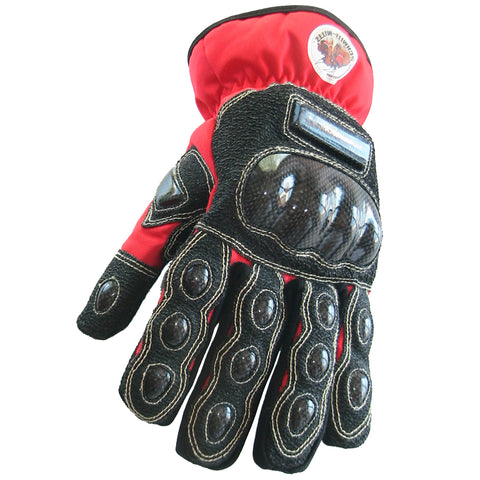 "Schmitz Mittz ""Ulta-Mittz"" Safety Gloves Hi-Viz Red-Front"