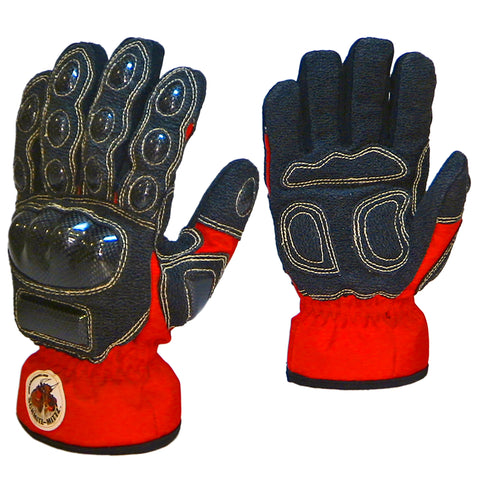 "Schmitz Mittz ""Ulta-Mittz"" Safety Gloves Hi-Viz Red-Pair"