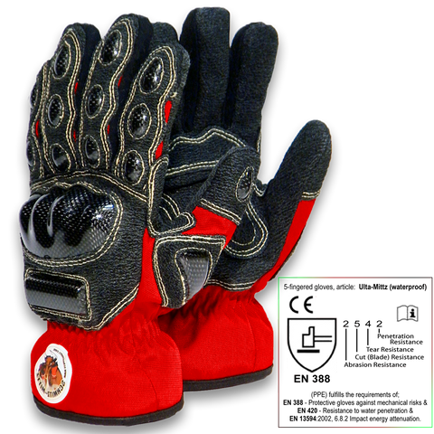 Ulta-Mittz Waterproof Safety Gloves