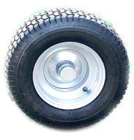 ATV flail mower wheel