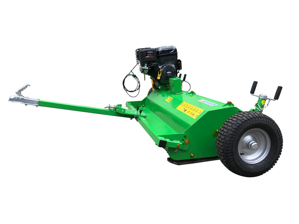 ATV pull behind flail mower