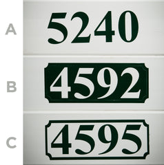 Decorative Address - 4 pack
