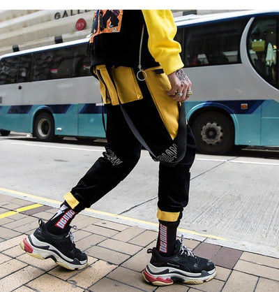 "Joggers ""Yellow Track"""