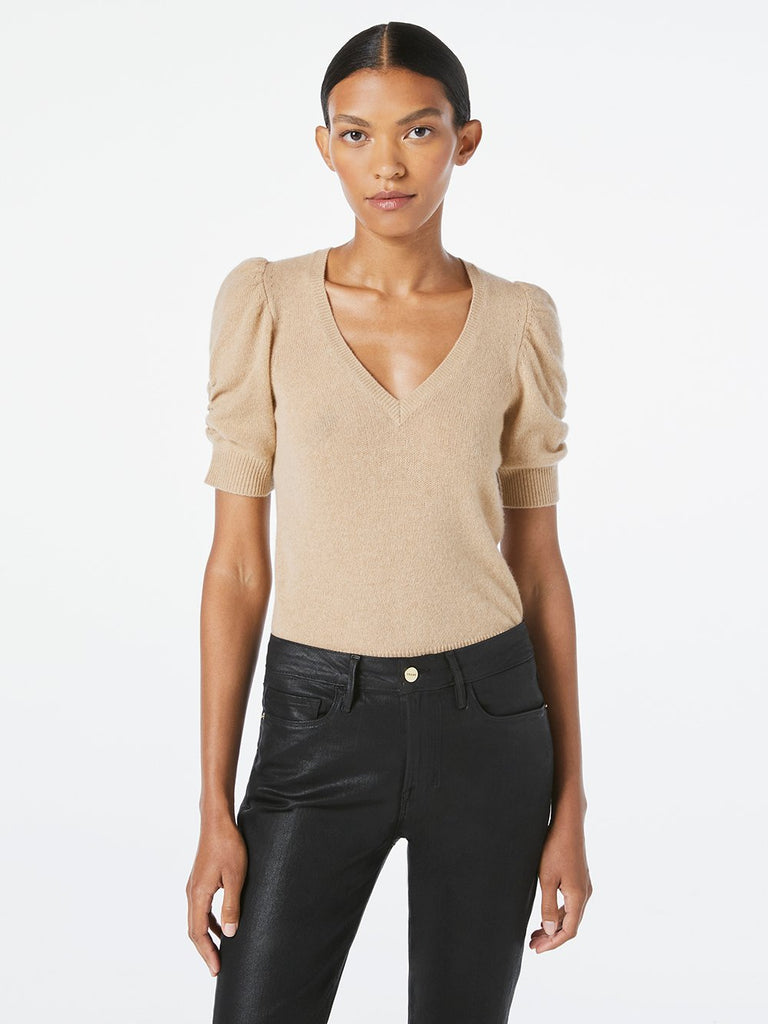 Frame Frankie Caramel Heather Sweater