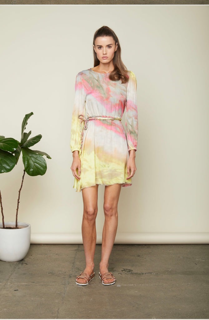Sundays Gilmore Tie Dye Dress