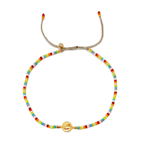 Tai Multi-Colored Handmade Winking Eye Bracelet