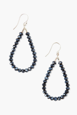 Chan Luu Tear Drop Beaded Earrings