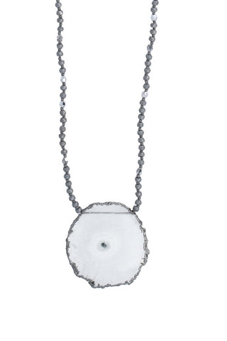 Chan Luu Solar Quartz Long Necklace