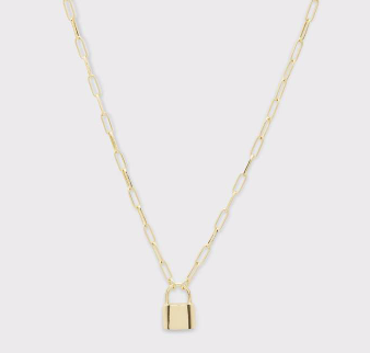 Kara Padlock Necklace