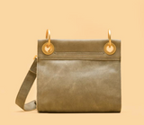 Hammitt Tony Crossbody Pewter/Brushed Gold