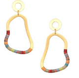 Mishky Afrika Pear Earrings
