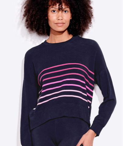 Stripes Oversize Sweatshirt