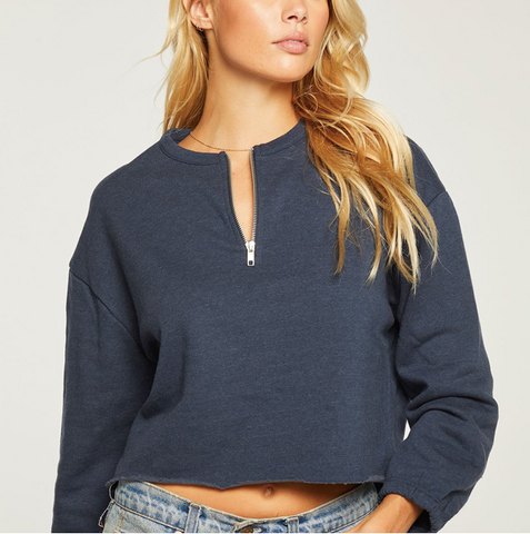 Cashmere Fleece Half Zip