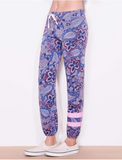 Stripes Paisley Sweatpant