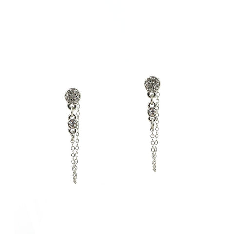 Drape Post Earrings