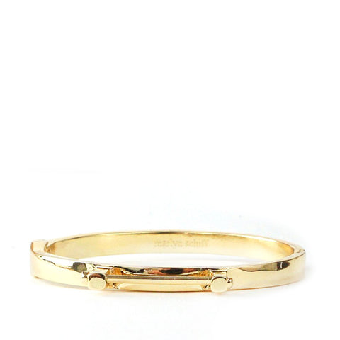Metal Hinge Bar Bangle
