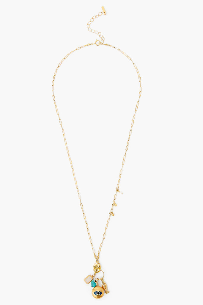 Chan Luu Moonstone Lab Mix Necklace