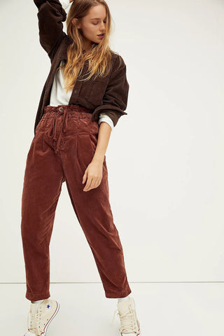 Free People Margate Cord Trouser