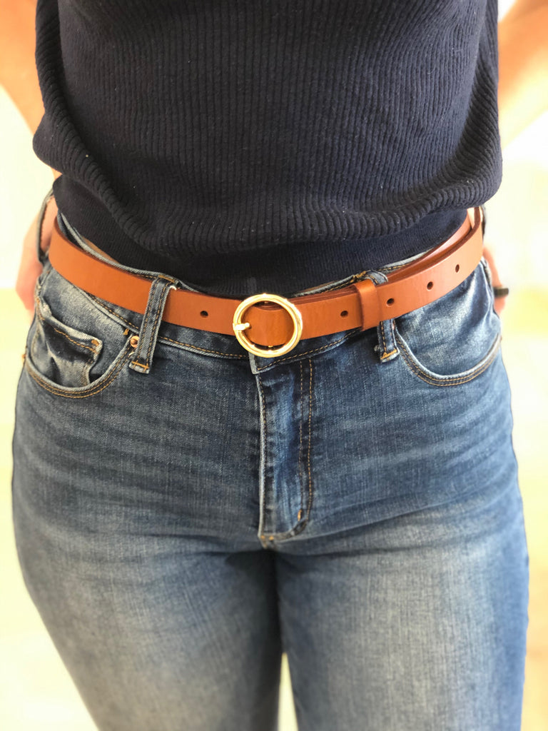 FRAME- Le Petit Circle Belt