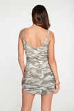Chaser Camo Ribbed Cami