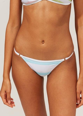 The Lulu Bottom- Color Blocked Stripe