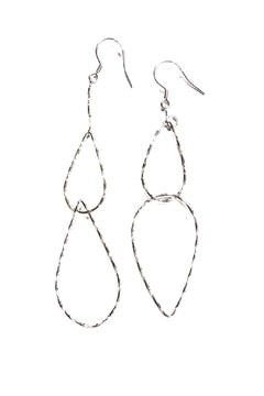 Link Tear Drop Earrings