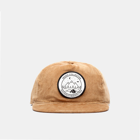 Camp Patch Tan Courdoroy Hat