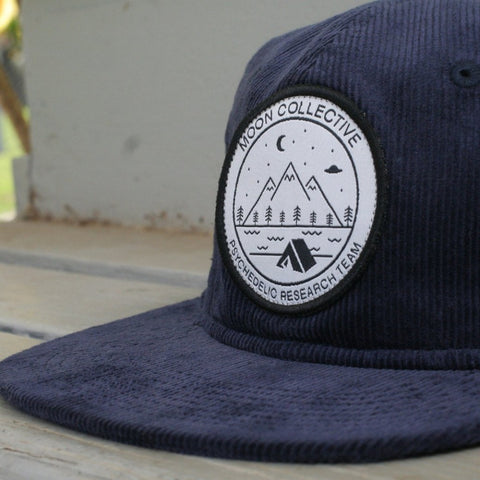Camp Patch Navy Corduroy Hat