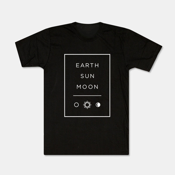 Earth Sun Moon Tee