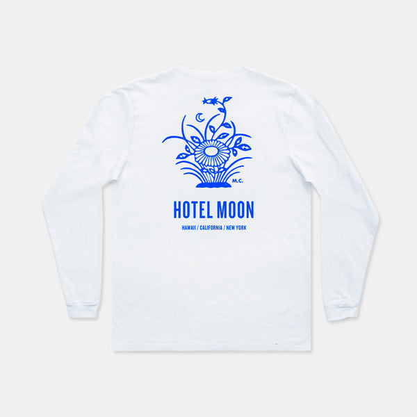 Hotel Moon White Long Sleeve - Sold Out