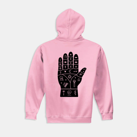 Palmistry Pink Hoodie - Sold Out