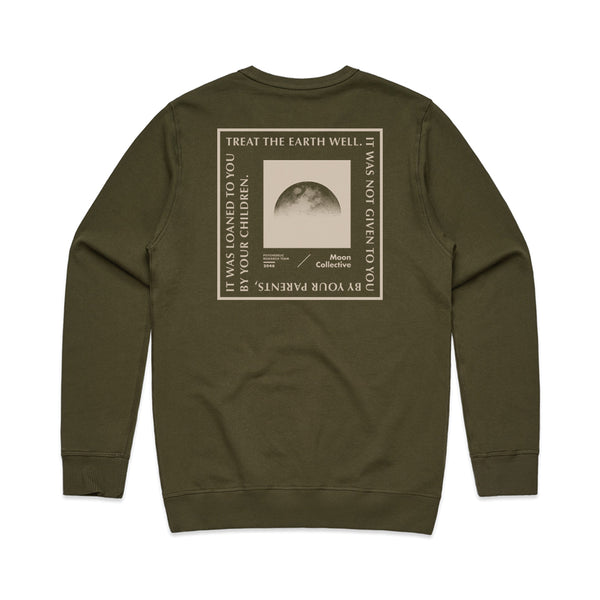 Treat the Earth Crewneck